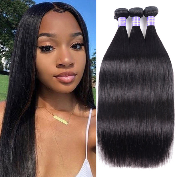 Flash Sale: $55.55 = 3 Bundles Affordable New Remy 100% Human Hair Bundles