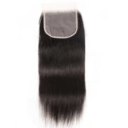 Sunber Hair Straight 5X5 Transparent Lace Closure Hair Extension 8-18 inch 100% Human Hair HD Closure