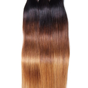 Malaysian Virgin Straight Hair Ombre Color Human Hair Extensions, 3 Bundles/4 Bundles - Sunberhair