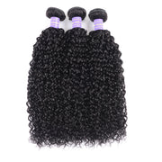 Sunber Hair New Remy Human Hair Malaysian Curly Hair 3 Bundles Human Hair Can be Dyed and Bleached