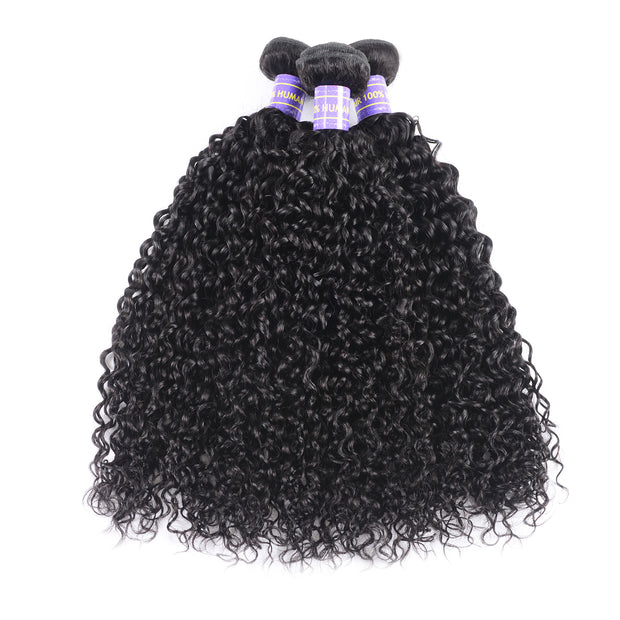 Sunber Hair Peruvian Curly Hair Bundles 3pcs/pack Unprocessed Peruvian Remy Human Hair