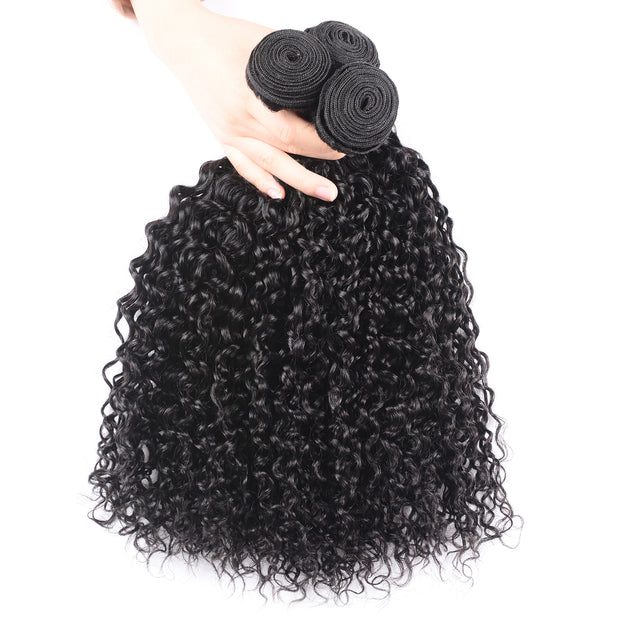 Sunber Hair 1 Bundle Remy Hair Curly Hair 1 Bundle Peruvian/Malaysian/Brazilian Remy Human Hair Weave