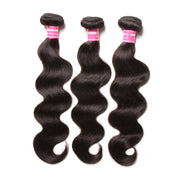 Sunber Hair Indian Body Wave 3 Bundles with 13*4 Ear to Ear Full Lace Frontal Closure, 8A Hotsale Virgin Hair