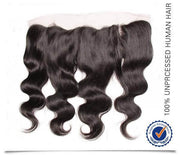 Indian Body Wave 3 Bundles with 13*4 Ear to Ear Full Lace Frontal Closure, 7A Hotsale Virgin Hair - Sunberhair