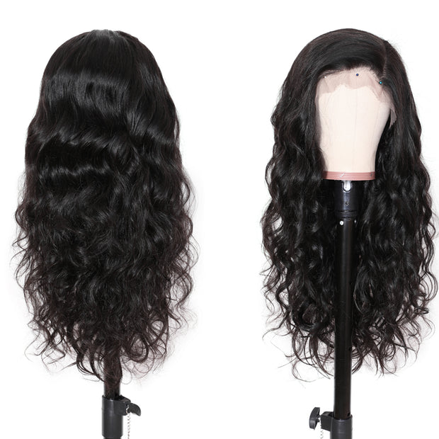 Sunber 9A Grade 13*4 / 13*6 / 360 Lace Front Human Hair Wigs Body Wave Hair Wig with Preplucked Hairline Human Hair Wig 150% Density