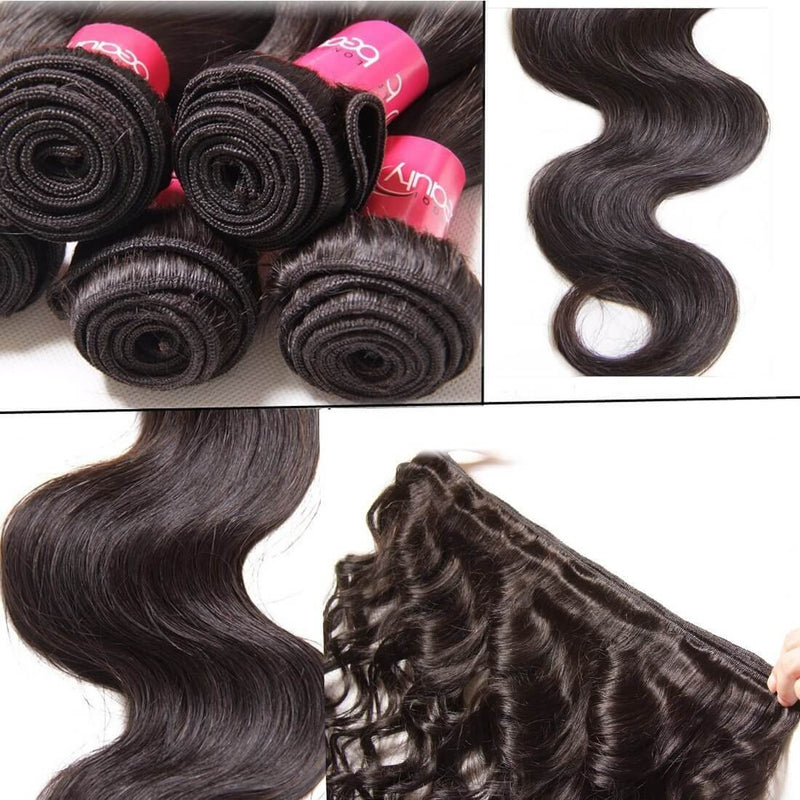 Peruvian Hair Body Wave Hair Bundles 3pcs/pack, 100% Peruvian Human Hair Bundles - Sunberhair