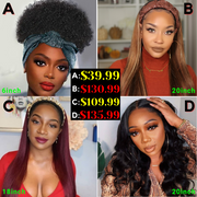 Sunber Hair Special Wigs Bulk Sale 4 Different Wigs 150% Density | Buy More Save More