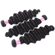 Sunber Hair 3 Bundles Loose Deep Wave Hair Bundles On Sale 12-26 Inch 100% Human Hair