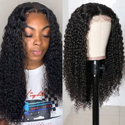 Sunber High-Quality 4x4 Lace Closure Part Wig 150% Density Jerry Curly Human Hair Wigs With Baby Hair