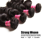 Peruvian Loose Wave Bundles 3pcs/lot- 100% 7A Virgin Hair Extensions - Sunberhair