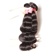 Sunber Hair Brazilian Body Wave 3 Bundles with 2 Closure Weave Bundles with Closure Vrigin Human Hair