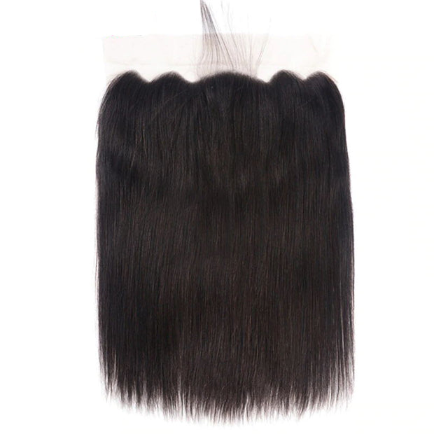Sunber Hair Brazilian Human Straight Hair 13*6 Lace Closure Pre-Plucked With Baby Hair