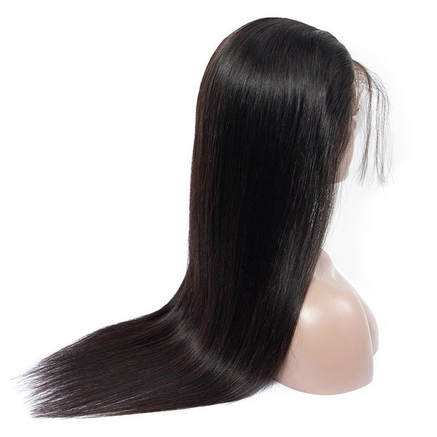Sunber Top4 9a Grade 180% Density Straight Hair Lace Front Wig 13×4 13×6 Lace Frontal Natural Black Full Ends Human Hair Wigs