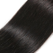 Sunber Hair Brazilian Human Straight Hair 5x5 Free Part Lace Closure Pre-Plucked With Baby Hair