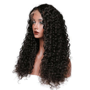 Lace Human Hair Wigs Brazilian Curly Hair Lace Wig For Black Women Wavy - Sunberhair