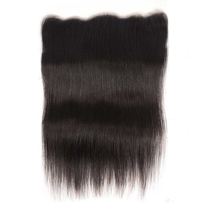 Straight Hair Transparent 13*4 Ear to Ear Lace Frontal, Peruvian/Malaysian/Brazilian/Indian Hair