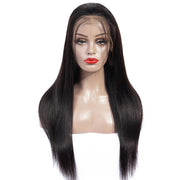 Sunber Top4 Lace Front 9a Grade Human Straight Hair Wig 180% Density Remy Human Hair