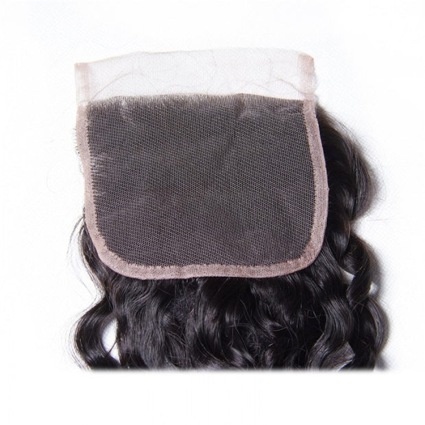 1 PC 4*4 Water Wave Free Part Lace Closure