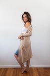 COSMO DUSTER HEATHERED PINK