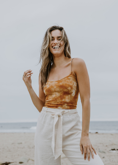 GOLDEN HOUR TYEDYE CAMI