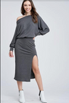 EDEN RIB SWEATER DRESS