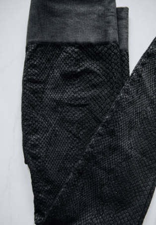 CHARCOAL PYTHON LEGGINGS