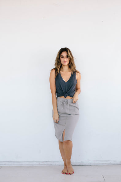 DESIRE TAUPE SKIRT