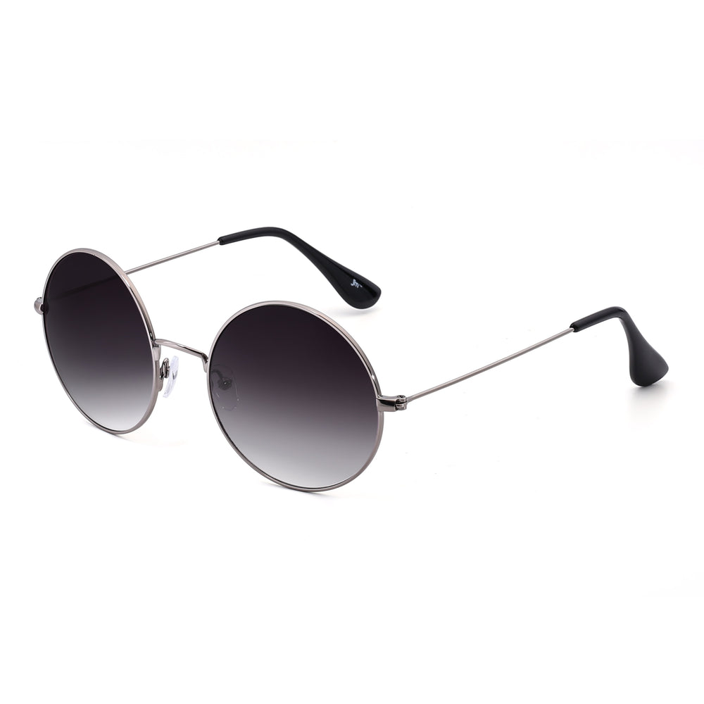 Retro Round Flash Sunglasses