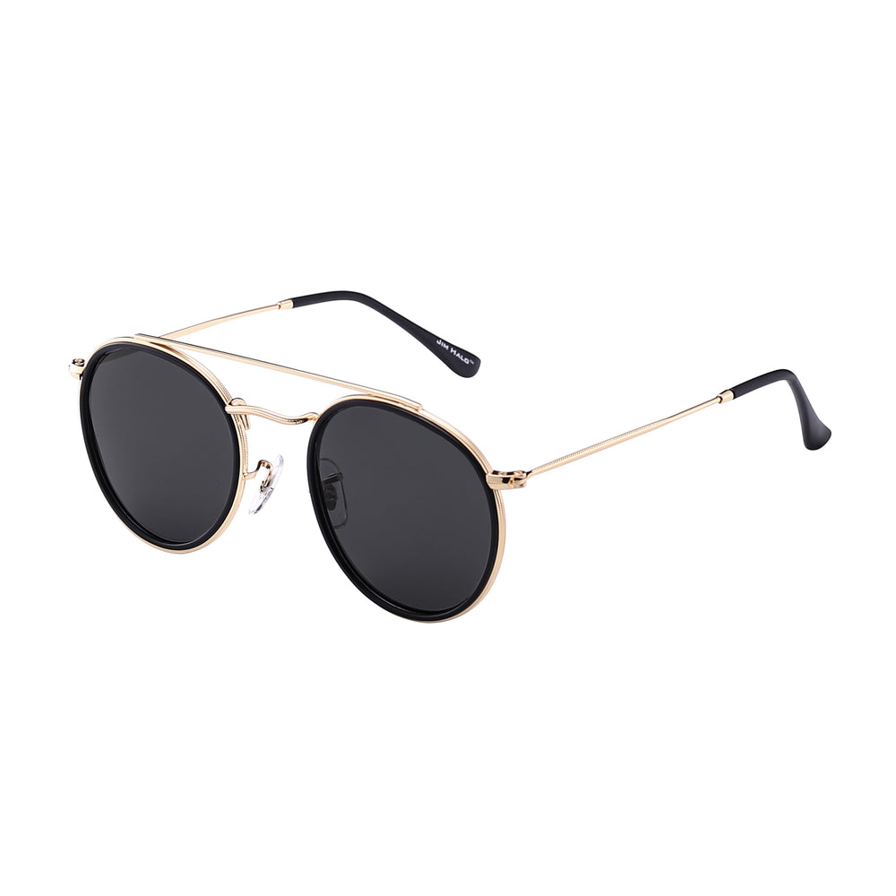 Small Polarized Round Sunglasses for Women