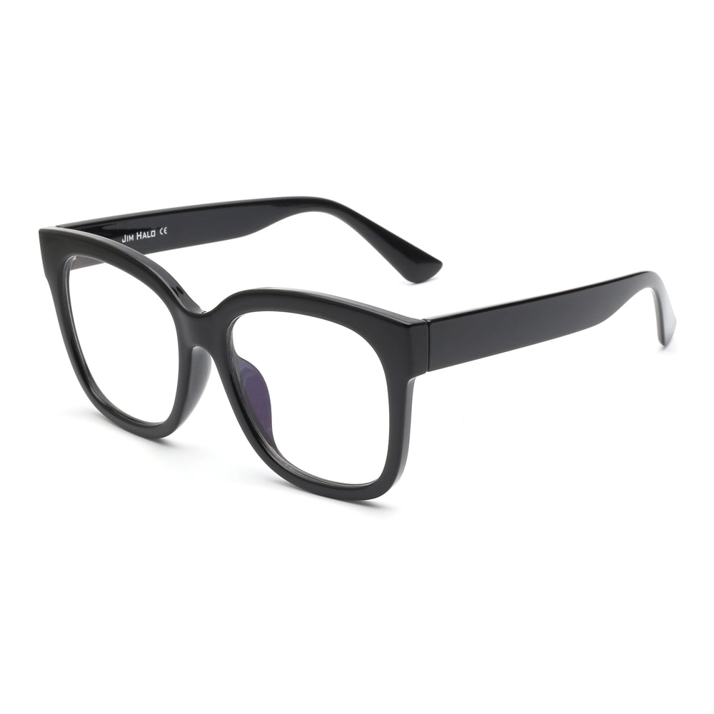 Oversized Square Computer Glasses Reduce Eye Strain