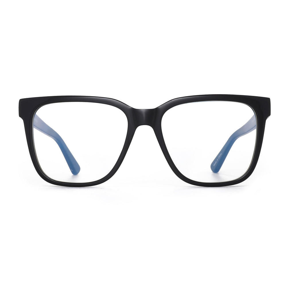 Oversized Square Computer Glasses Acetate Frame