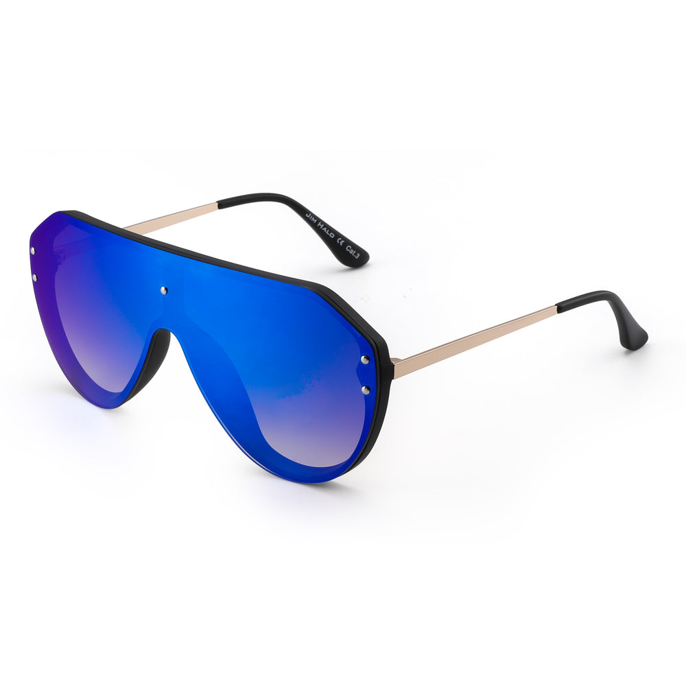 Oversized Shield Sunglasses