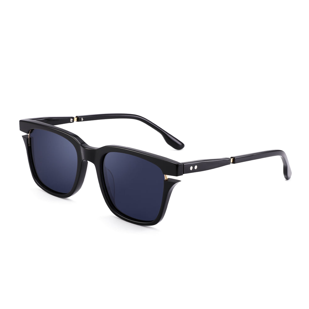 Polarized Sunglasses Classic Square Acetate Frame