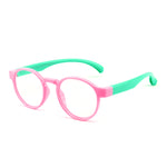 Kids Round Blue Light Blocking Glasses