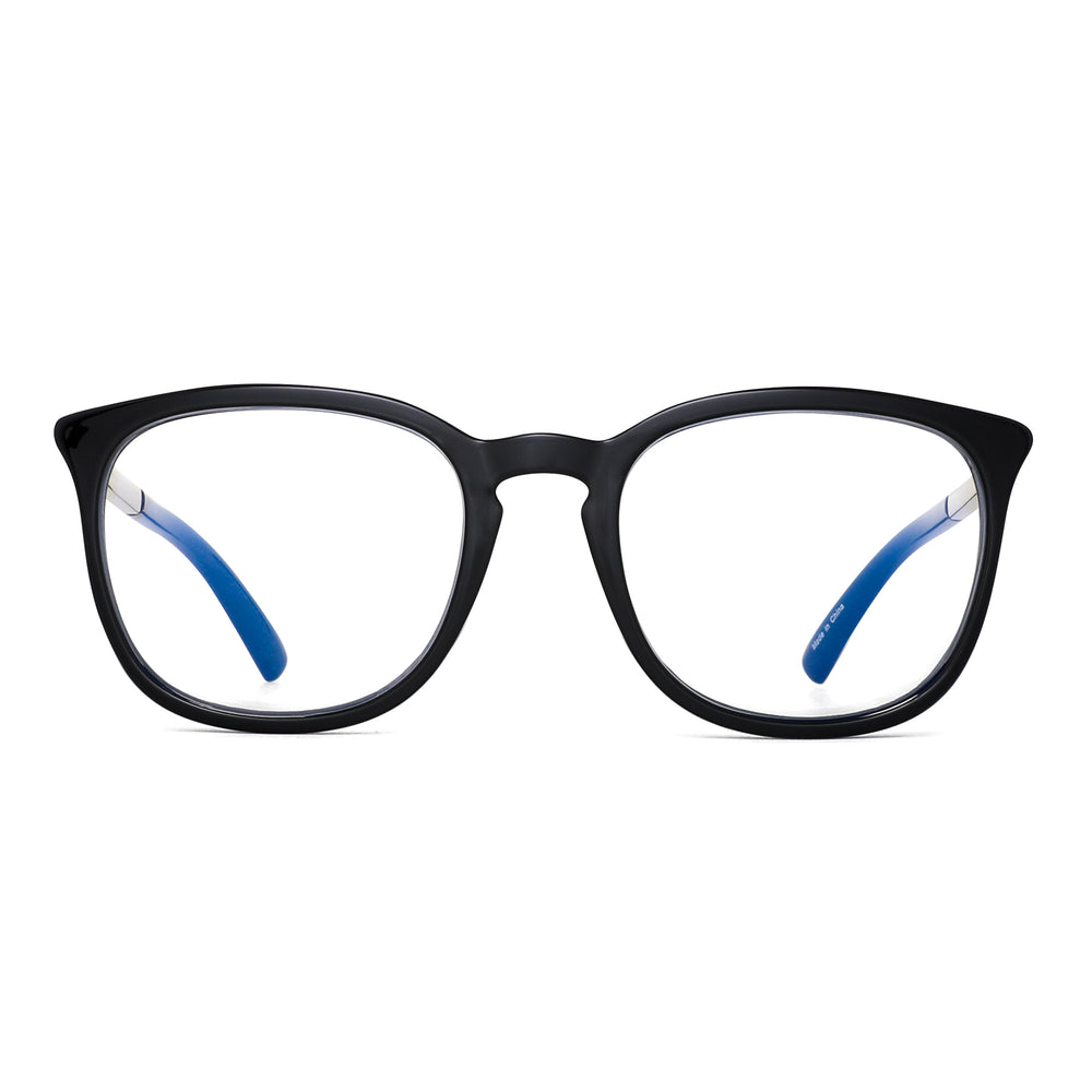 Computer Glasses Square Nerd  Eyeglasses Frame Anti Blue Ray