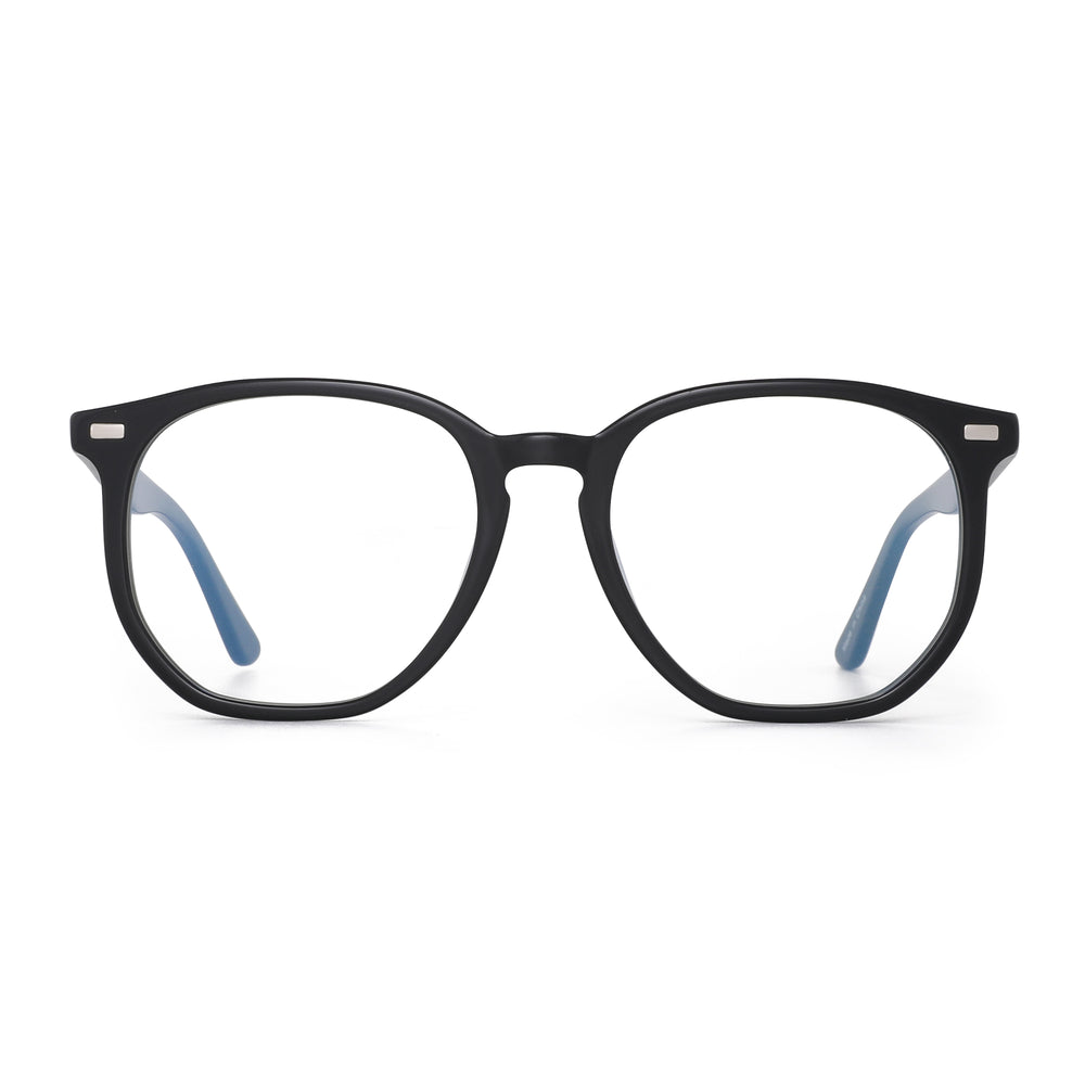 Hexagonal Polygon Blue Light Blocking Glasses