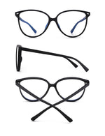 GLINDAR Oversized Blue Light Blocking Glasses
