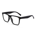 Oversized Square Blue Light Blocking Glasses TR Frame