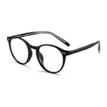 Retro Round Blue Light Blocking Glasses TR90