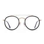 Small Round Blue Light Blocking Glasses for Women