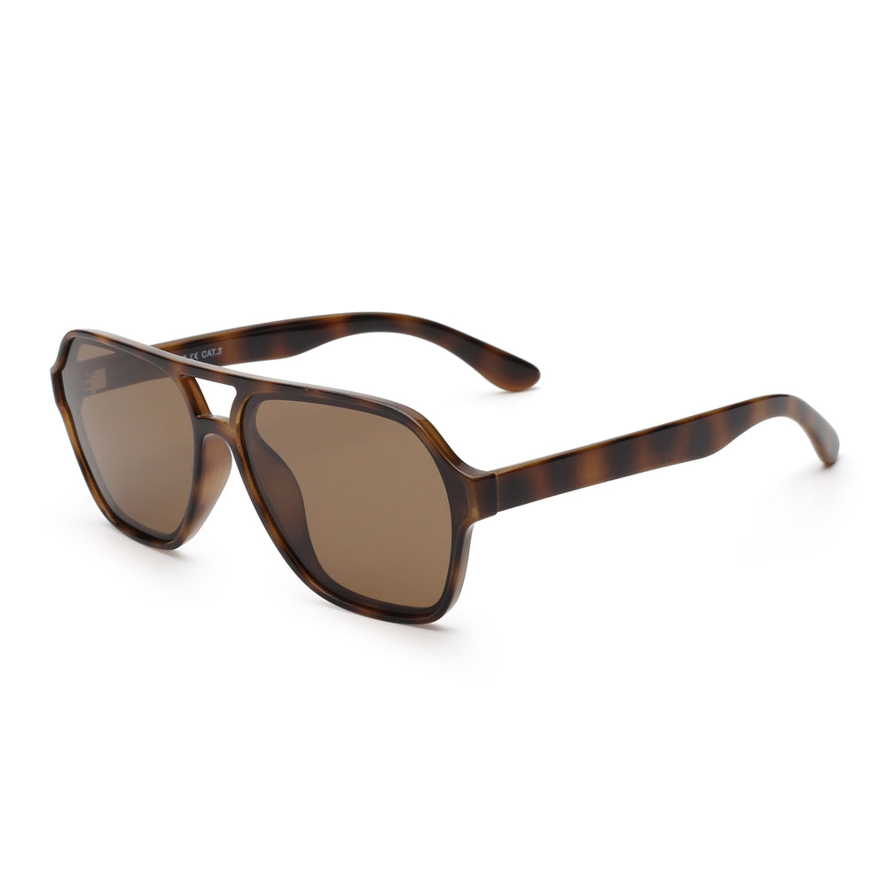 Polarized Aviator Sunglasses Men Women Vintage Square Driving Glasses
