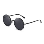 GLINDAR Retro Round Sunglasses  Circle Hippie