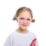 Kids Square Blue Light Blocking Glasses