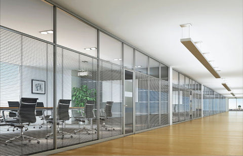 Custom Glass Partition Wall