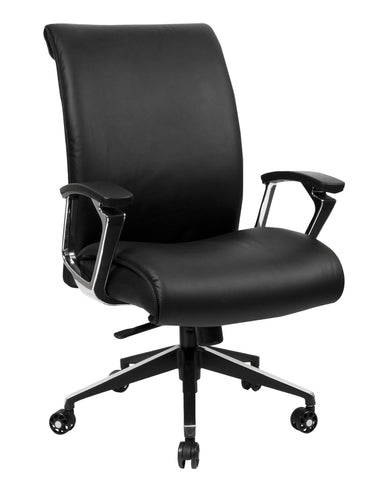Medium Back Bonded Leather Executive Chair