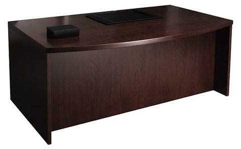 (40% OFF) Bow-Front Desk