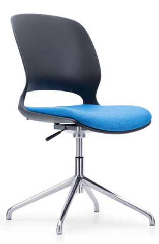 Swivel Chair with Aluminum Base