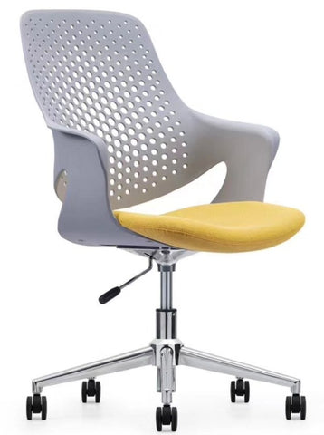 Modern Task Chair with Chrome Base