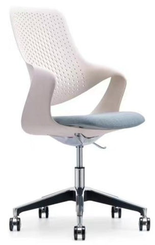 Modern Task Chair with Aluminum Base