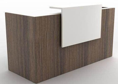 RITA Reception Desk with Mobile Pedestal